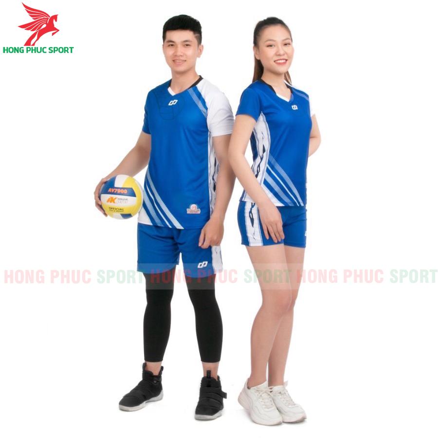Áo bóng chuyền CP Sport 2020 màu xanh