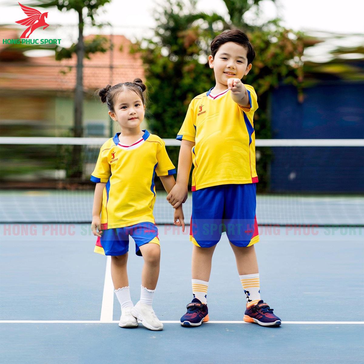 Áo bóng chuyền trẻ em Beyono 2020 Legend màu vàng
