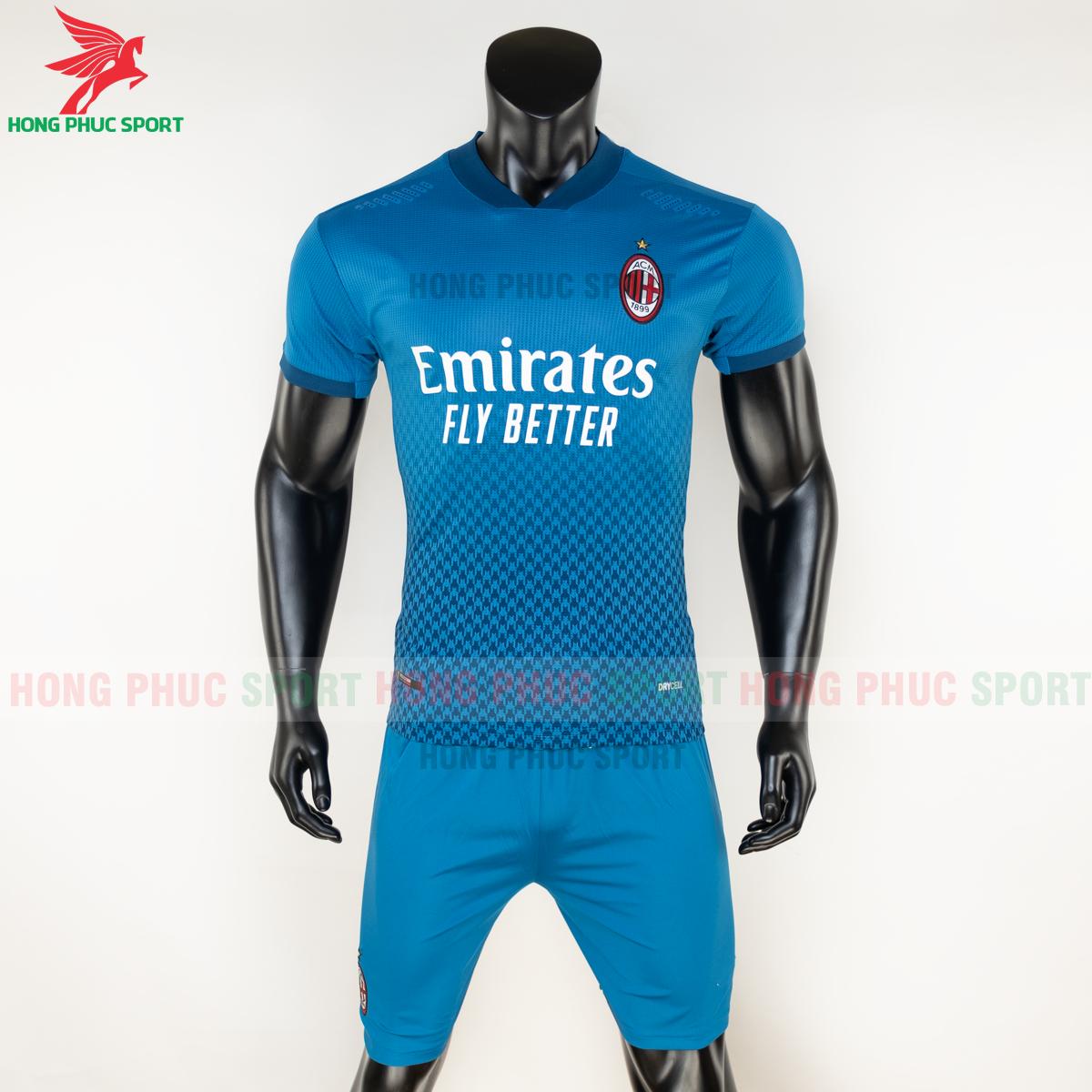 Áo bóng đá AC Milan 2020 2021 mẫu thứ 3 (trước)
