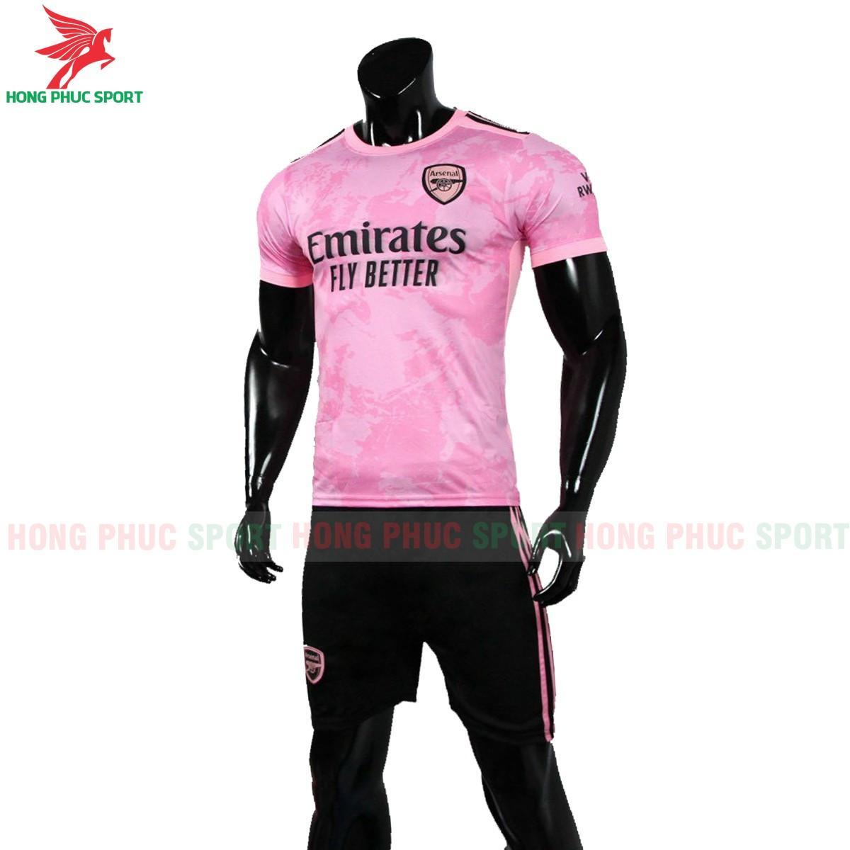 Áo đấu Arsenal2021 2022 phiên bản fan màu hồng