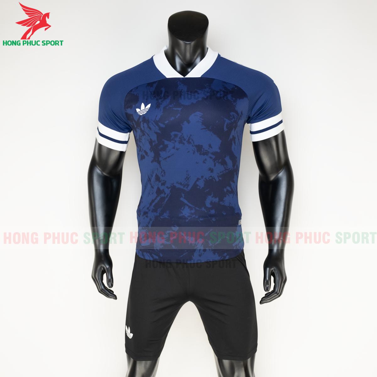 Áo đá banh không logo Condivo ba lá Adidas 2020 2021 mẫu 1 (trước)