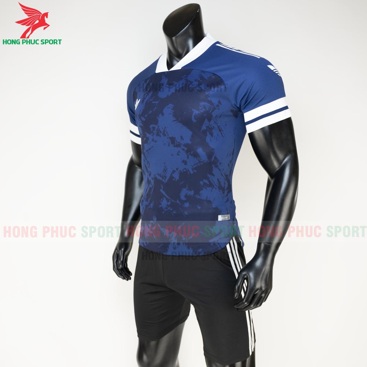 Áo đá banh không logo Condivo ba lá Adidas 2020 2021 mẫu 1 (trái)