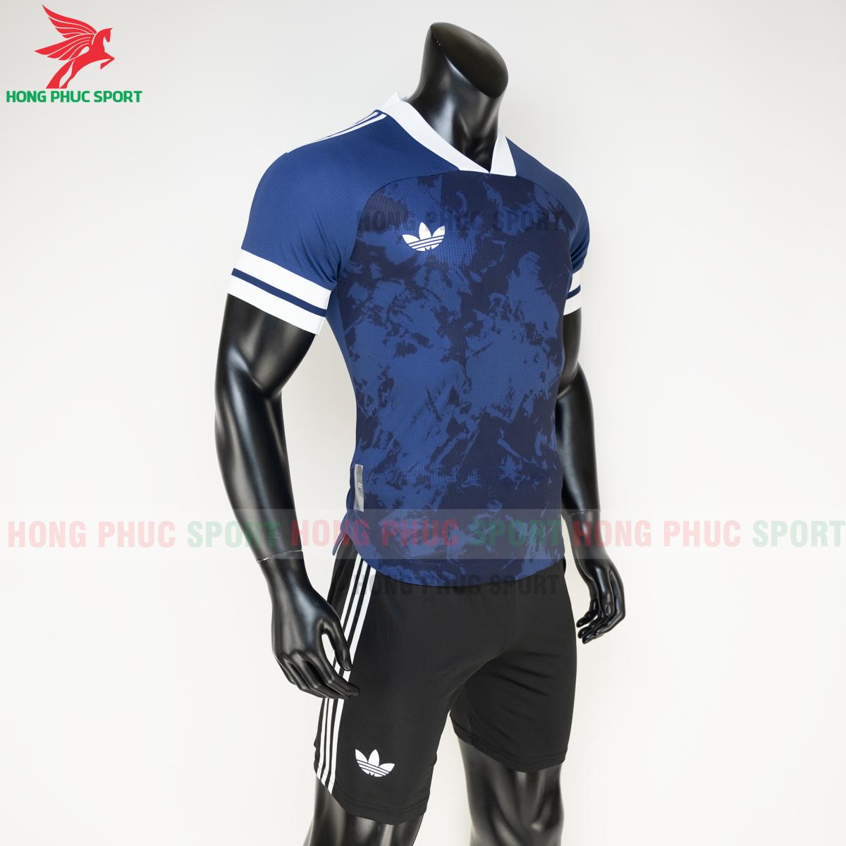 Áo đá banh không logo Condivo ba lá Adidas 2020 2021 mẫu 1 (phải)