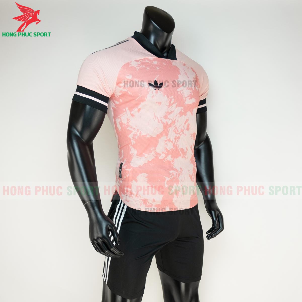 Áo đá banh không logo Condivo ba lá Adidas 2020 2021 mẫu 2 (phải)
