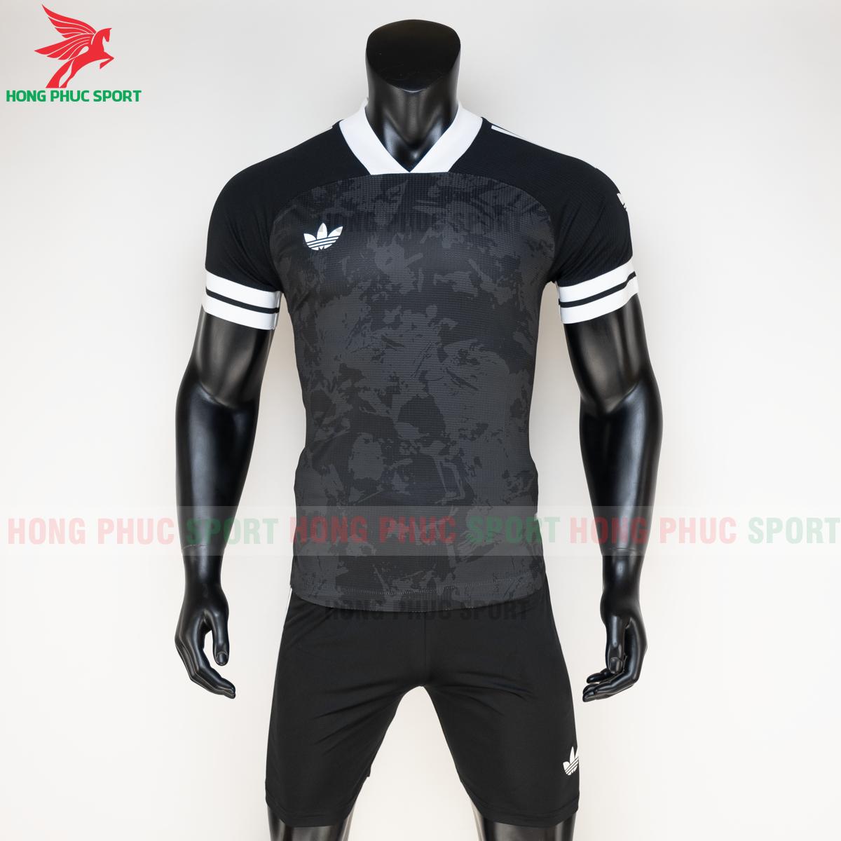Áo đá banh không logo Condivo ba lá Adidas 2020 2021 mẫu 3 (trước)