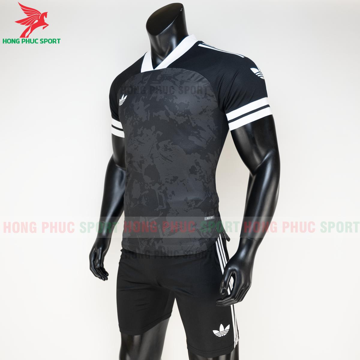 Áo đá banh không logo Condivo ba lá Adidas 2020 2021 mẫu 3 (trái)