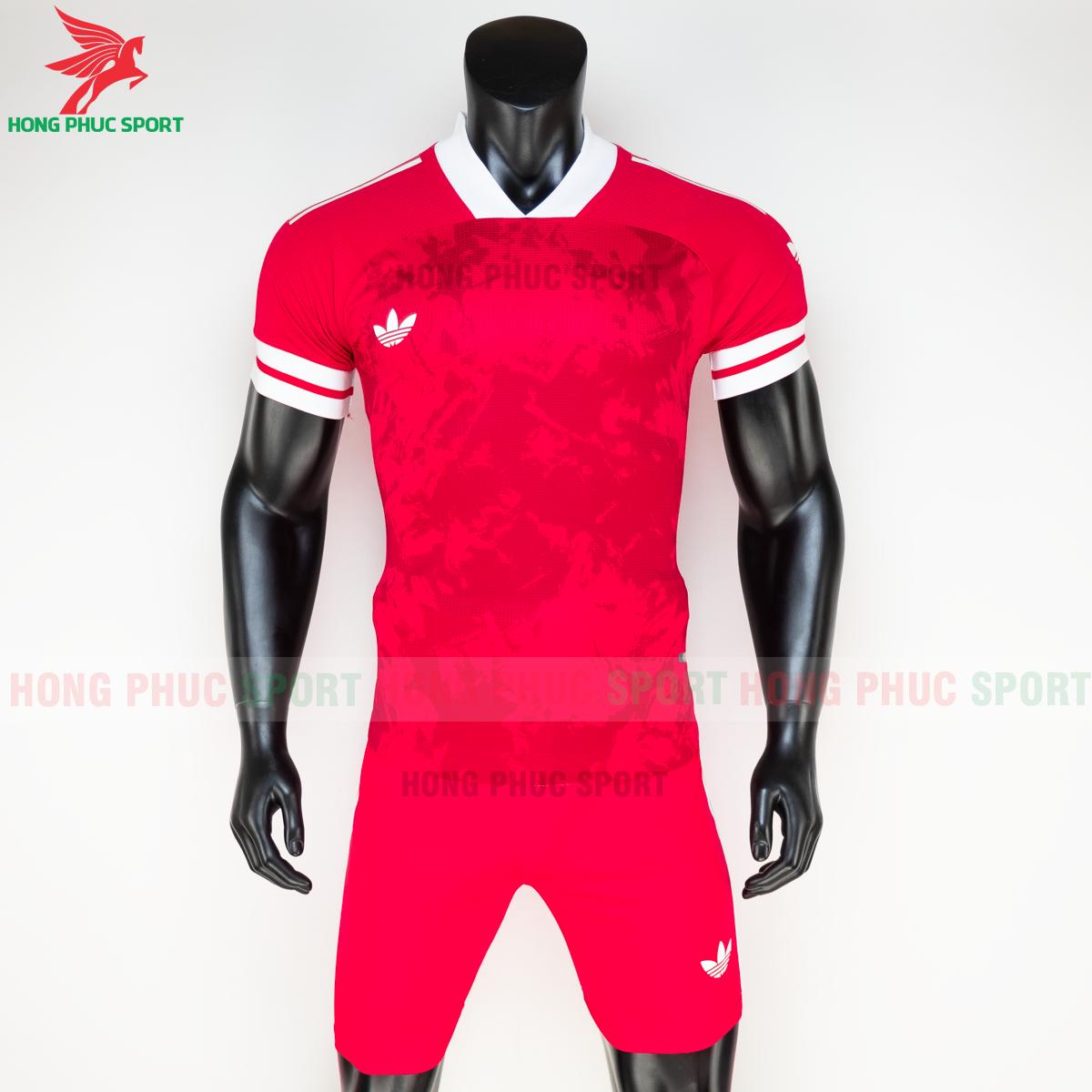 Áo đá banh không logo Condivo ba lá Adidas 2020 2021 mẫu 4 (trước)