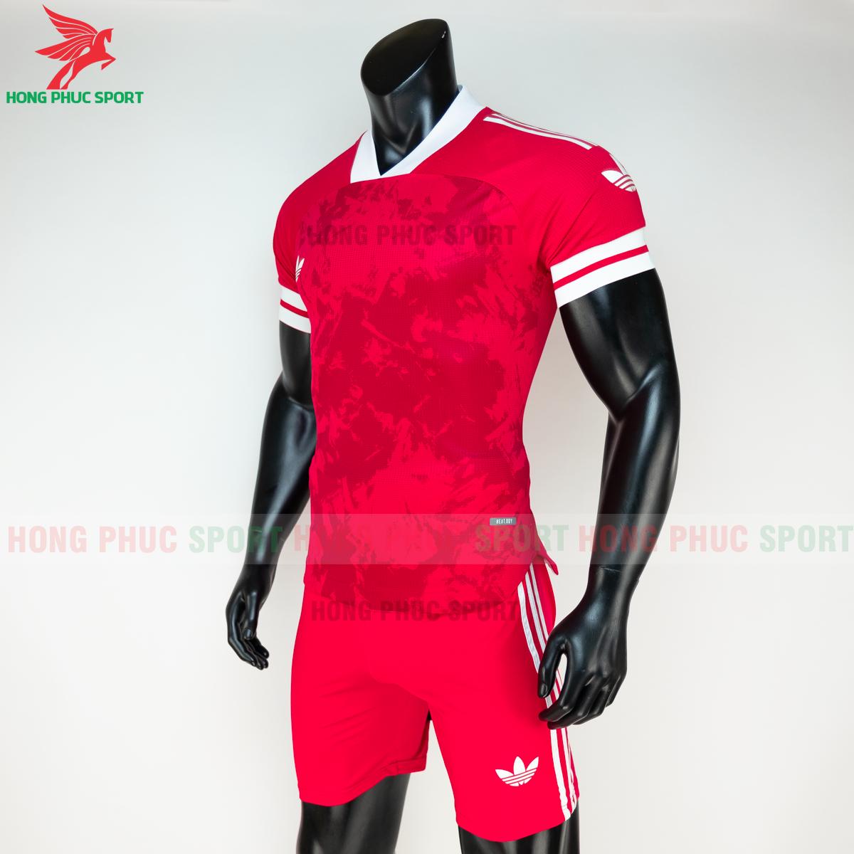 Áo đá banh không logo Condivo ba lá Adidas 2020 2021 mẫu 4 (trái)