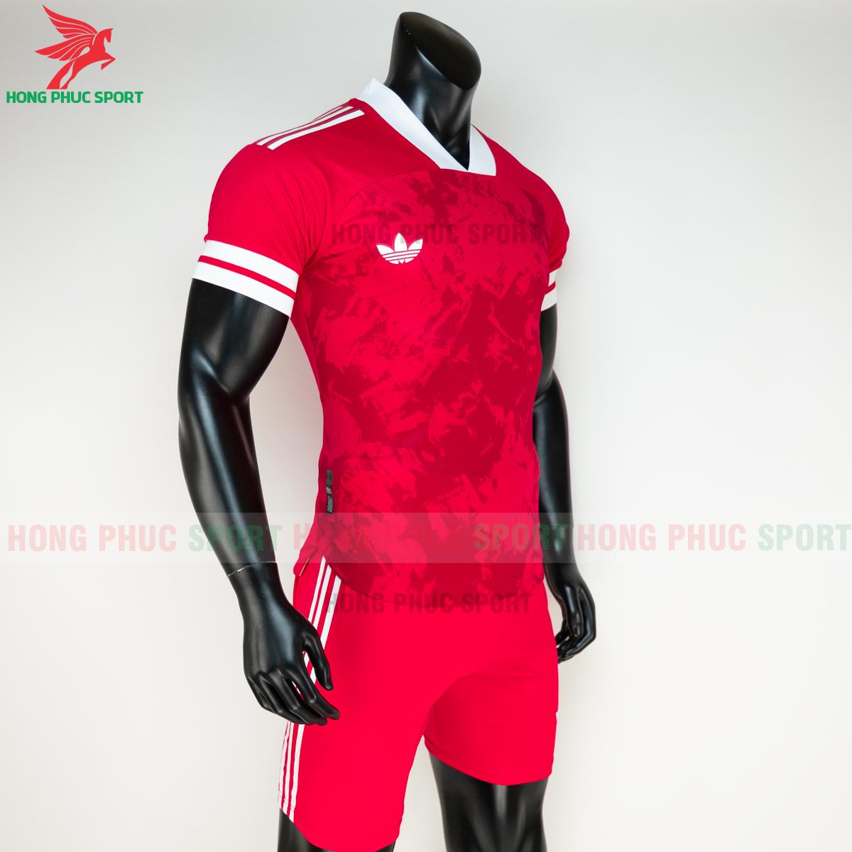 Áo đá banh không logo Condivo ba lá Adidas 2020 2021 mẫu 4 (phải)