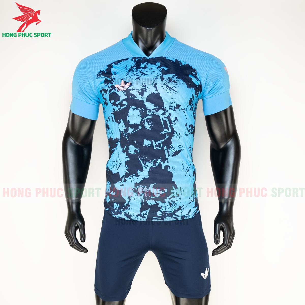 Áo đá banh không logo Condivo ba lá Adidas 2020 2021 mẫu 5 (trước)