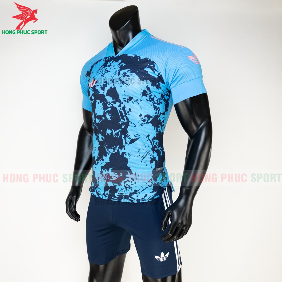 Áo đá banh không logo Condivo ba lá Adidas 2020 2021 mẫu 5 (trái)