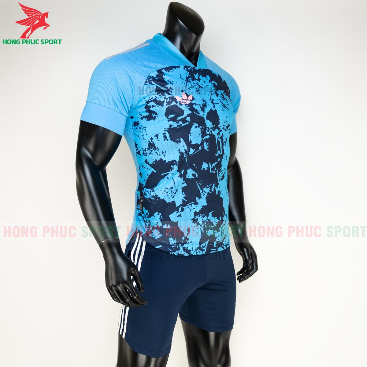 Áo đá banh không logo Condivo ba lá Adidas 2020 2021 mẫu 5 (phải)