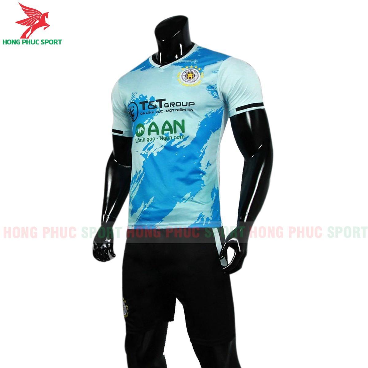 Áo đấu CLB Hà Nội 2021 màu xanh ngọc