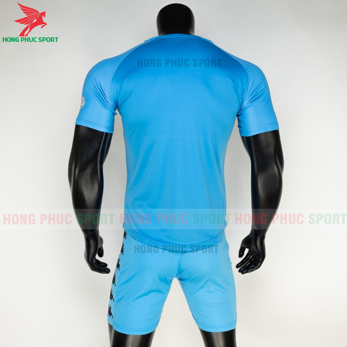 Áo đấu CLB Hà Nội 2021 xanh ngọc (sau)