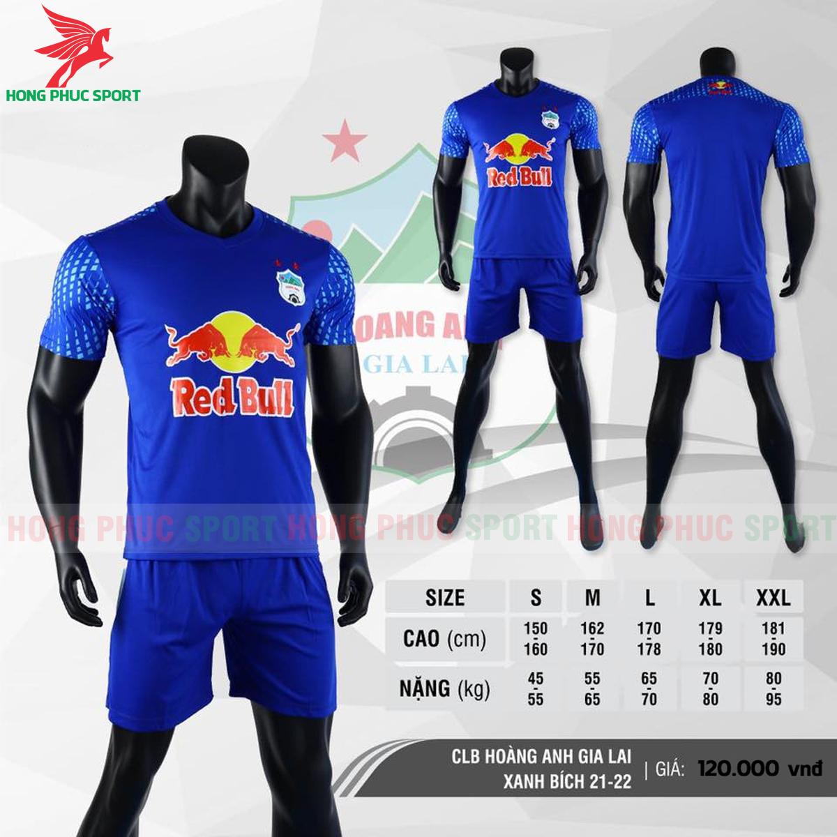 Áo đấu CLB Hoàng Anh Gia Lai2021 màu xanh bích