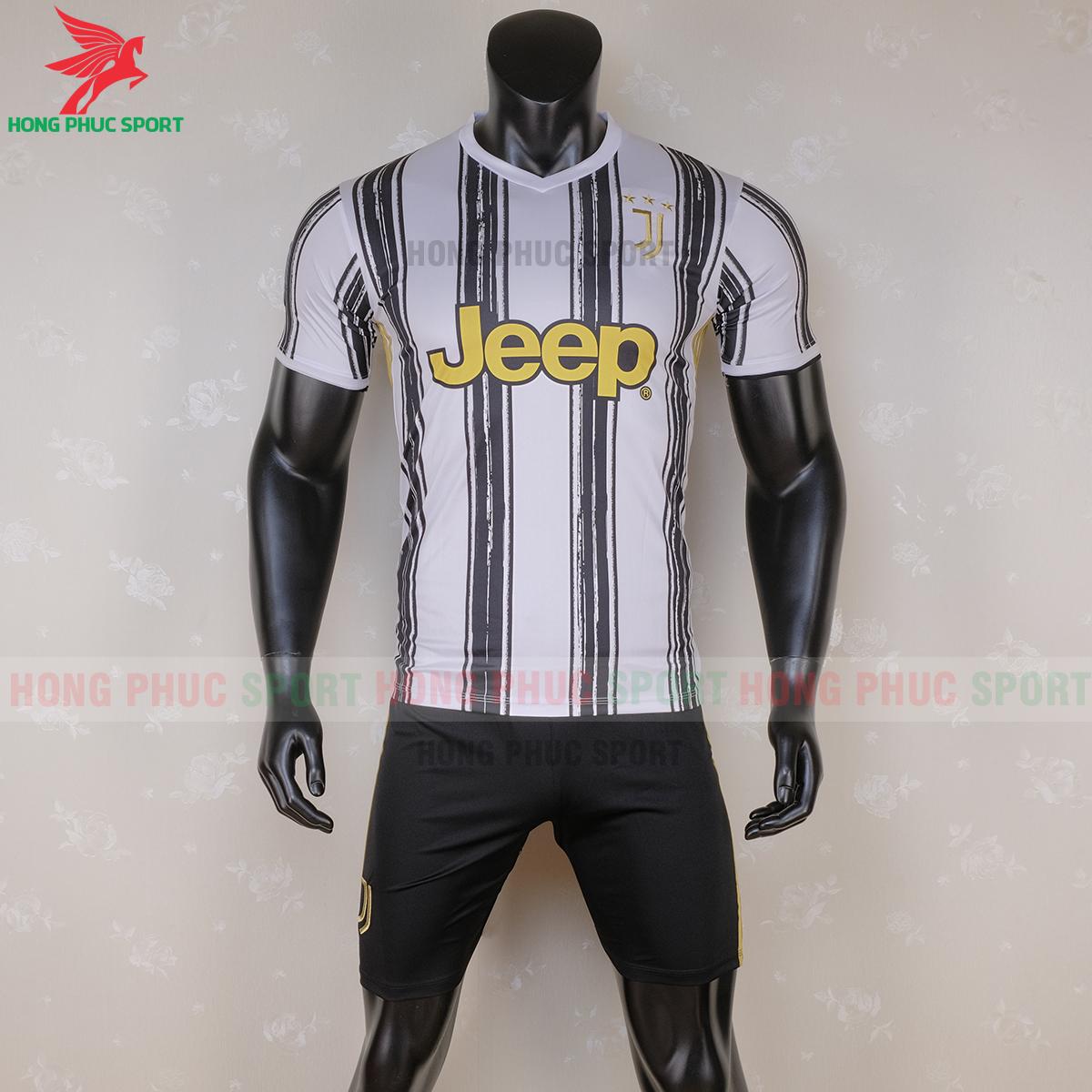 Áo đấu Juventus 2020 sân nhà (trước)