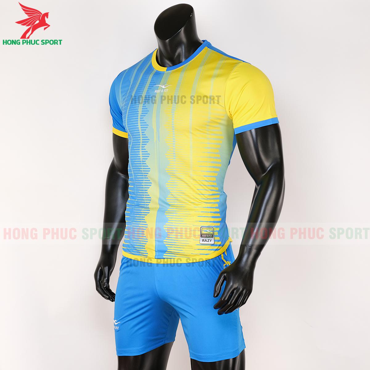 Áo Keep&Fly Razy 2020 vàng - xanh ngọc (trái)