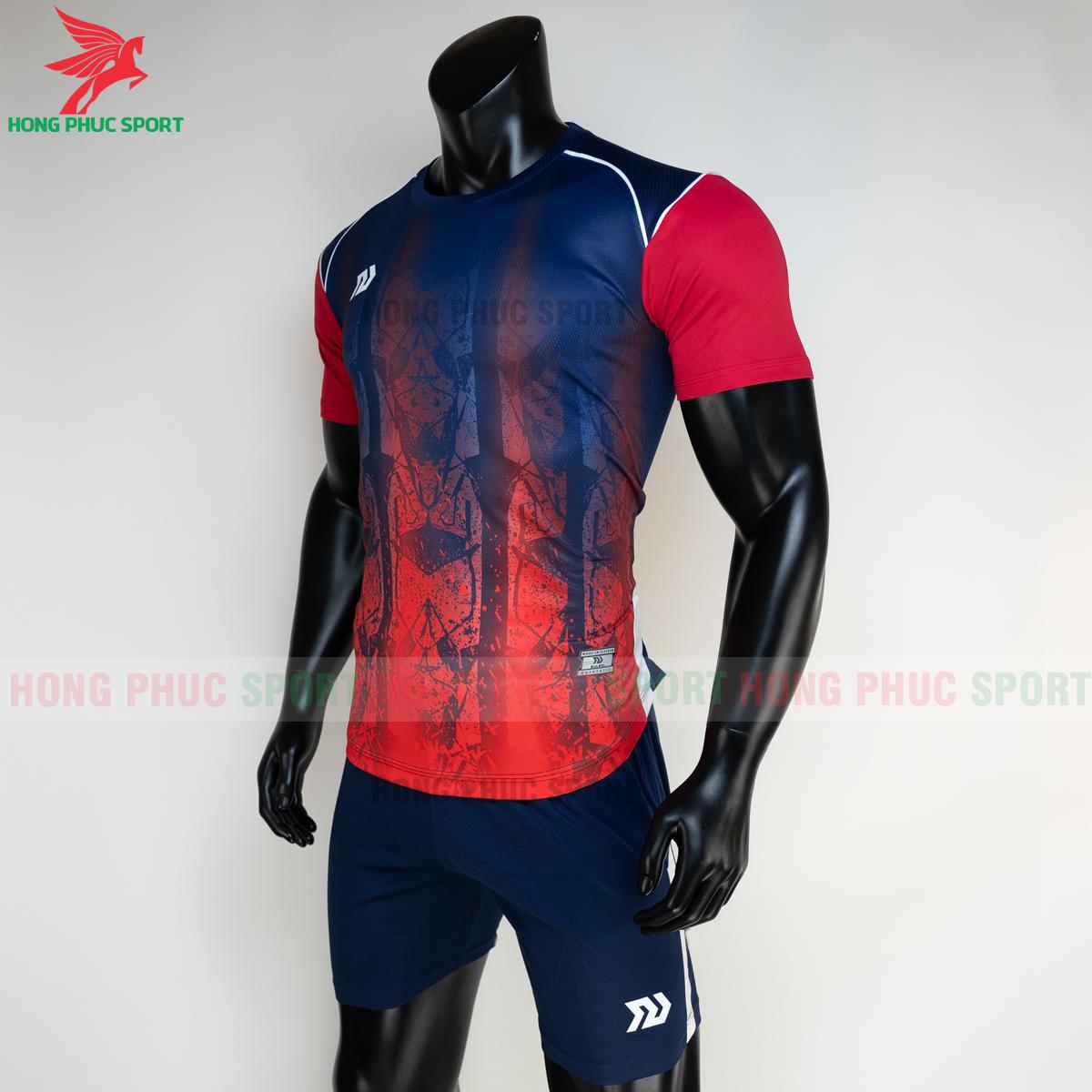 Áo đá banh không logo Bulbal Hades 2021 màu đỏ (trái)