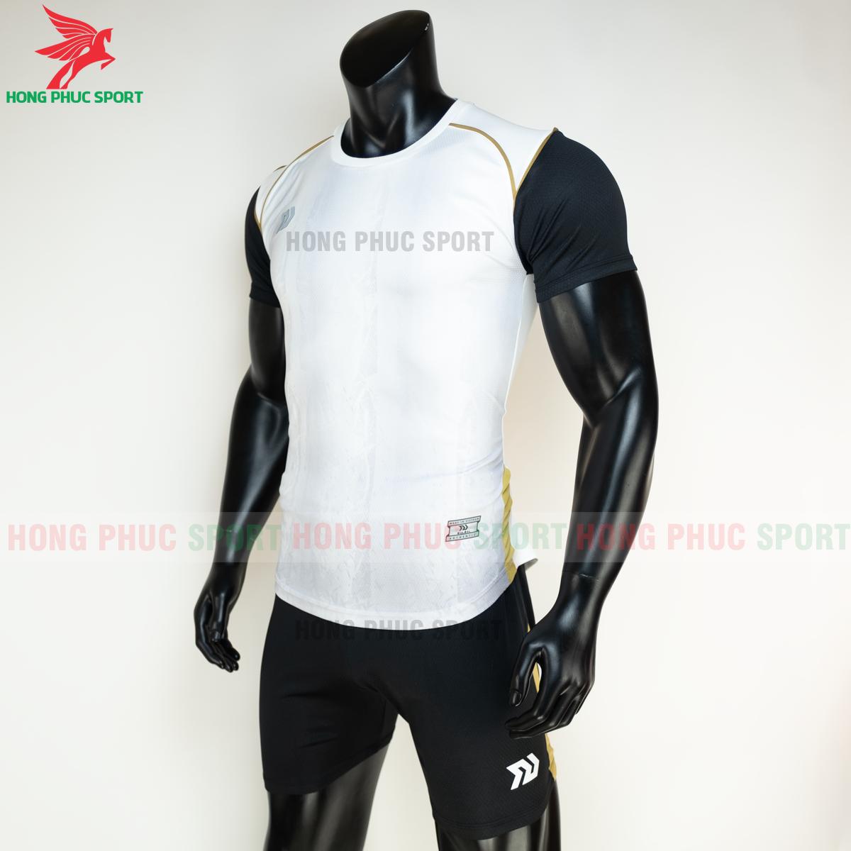 Áo đá banh không logo Bulbal Hades 2021 màu Trắng (trái)