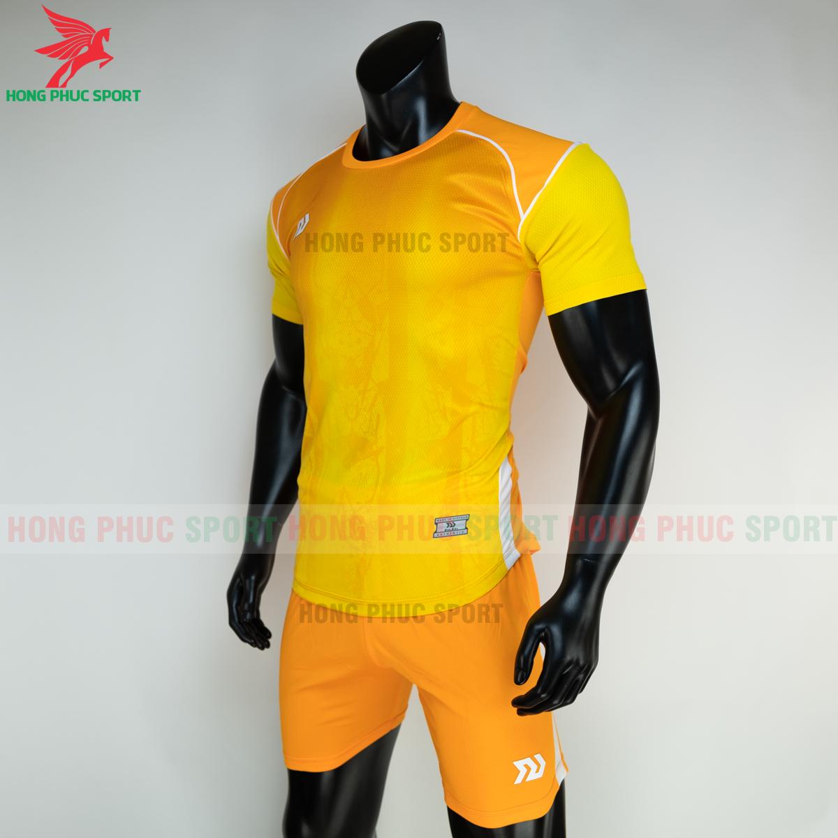Áo đá banh không logo Bulbal Hades 2021 màu vàng (trái)