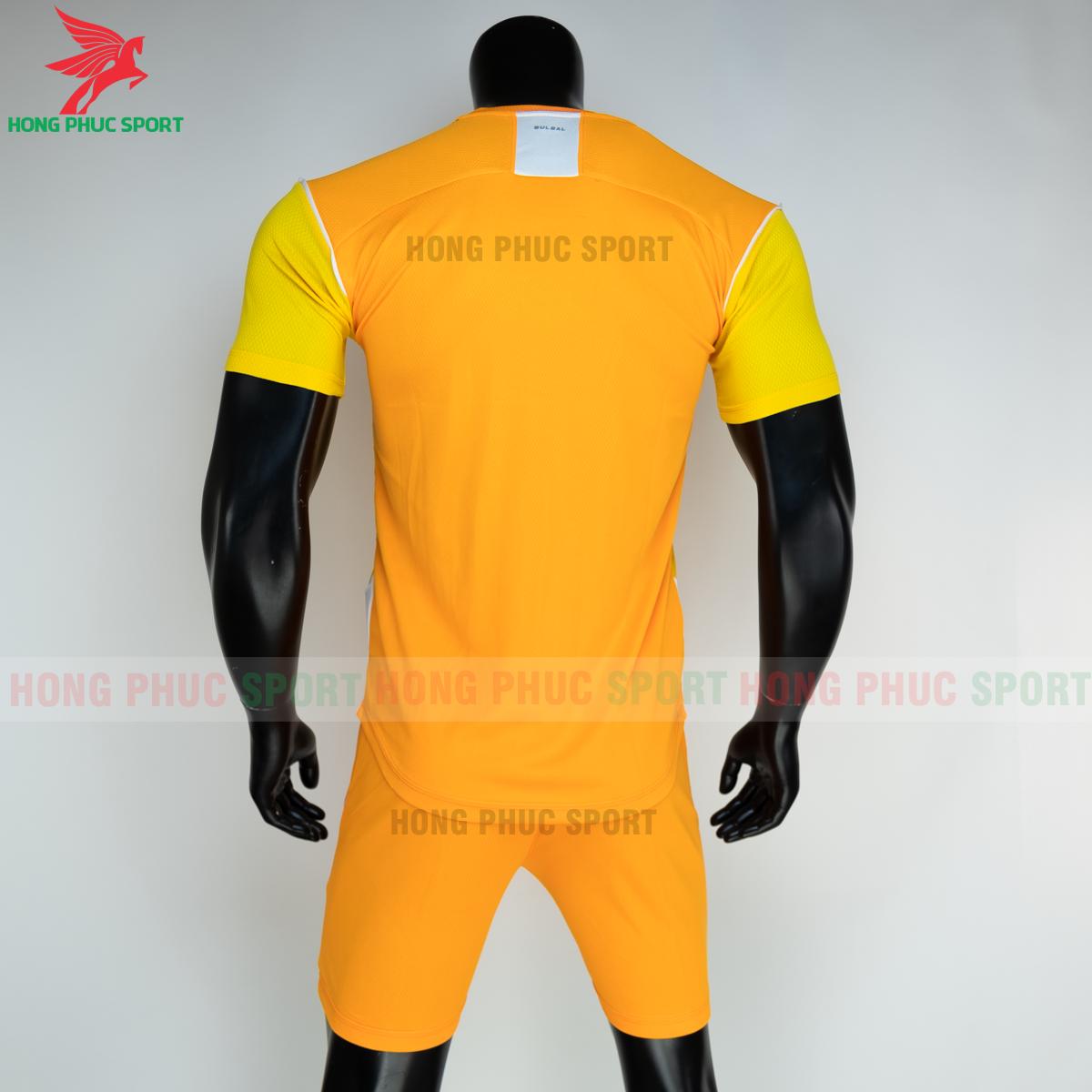 Áo đá banh không logo Bulbal Hades 2021 màu vàng (sau)