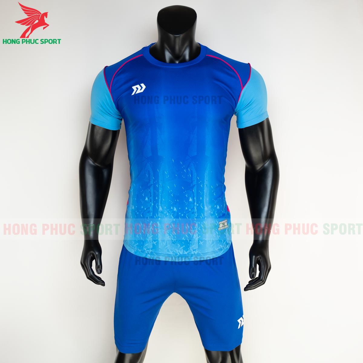 Áo đá banh không logo Bulbal Hades 2021 màu Xanh dương(trước)