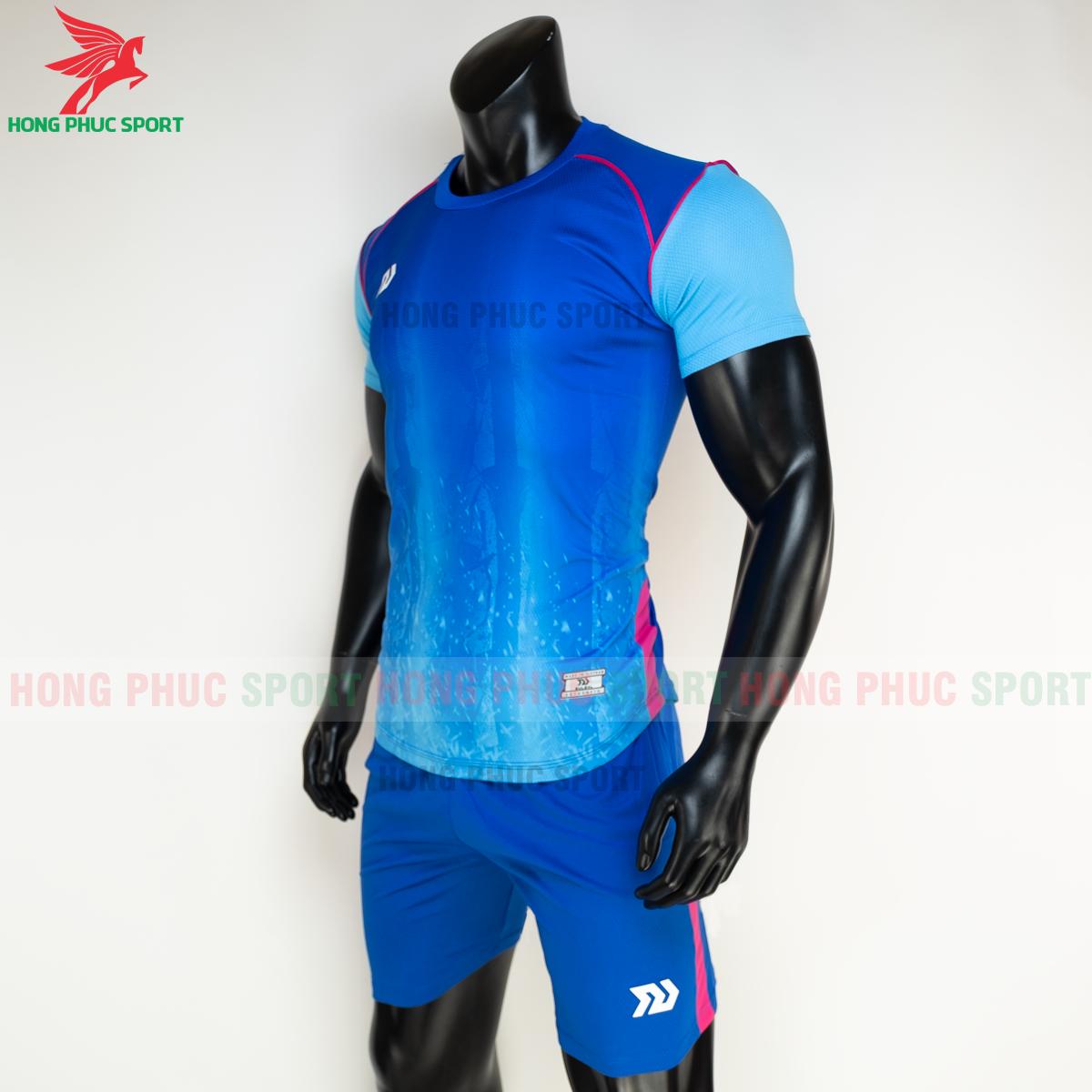 Áo đá banh không logo Bulbal Hades 2021 màu Xanh dương(trái)