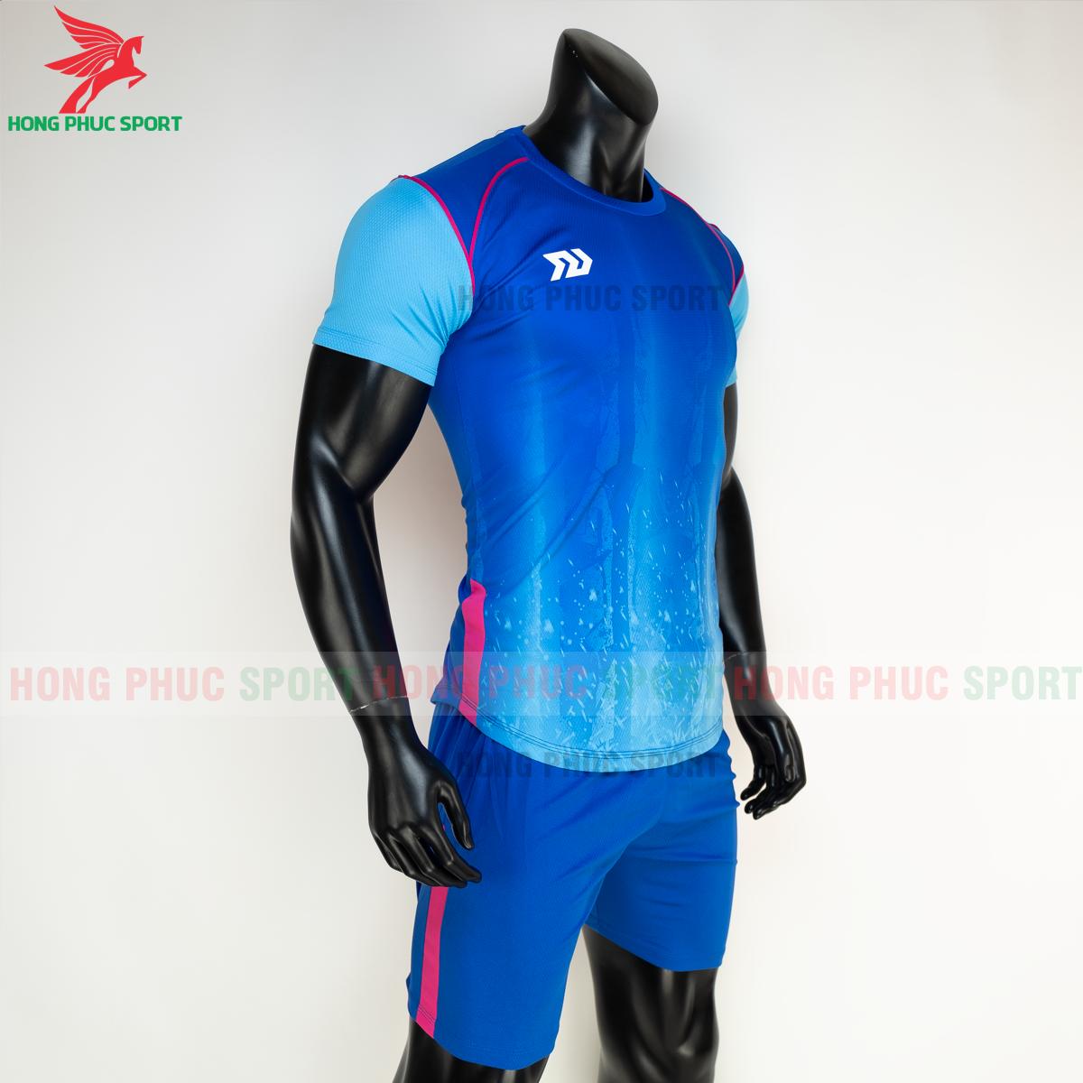 Áo đá banh không logo Bulbal Hades 2021 màu Xanh dương(phải)