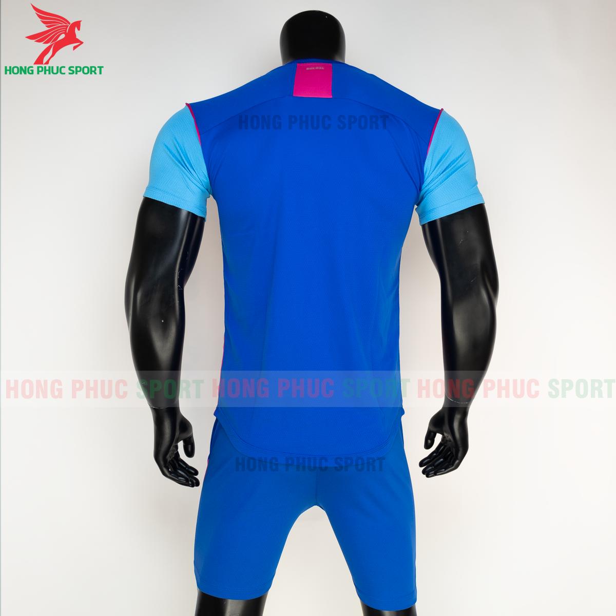 Áo đá banh không logo Bulbal Hades 2021 màu Xanh dương(sau)