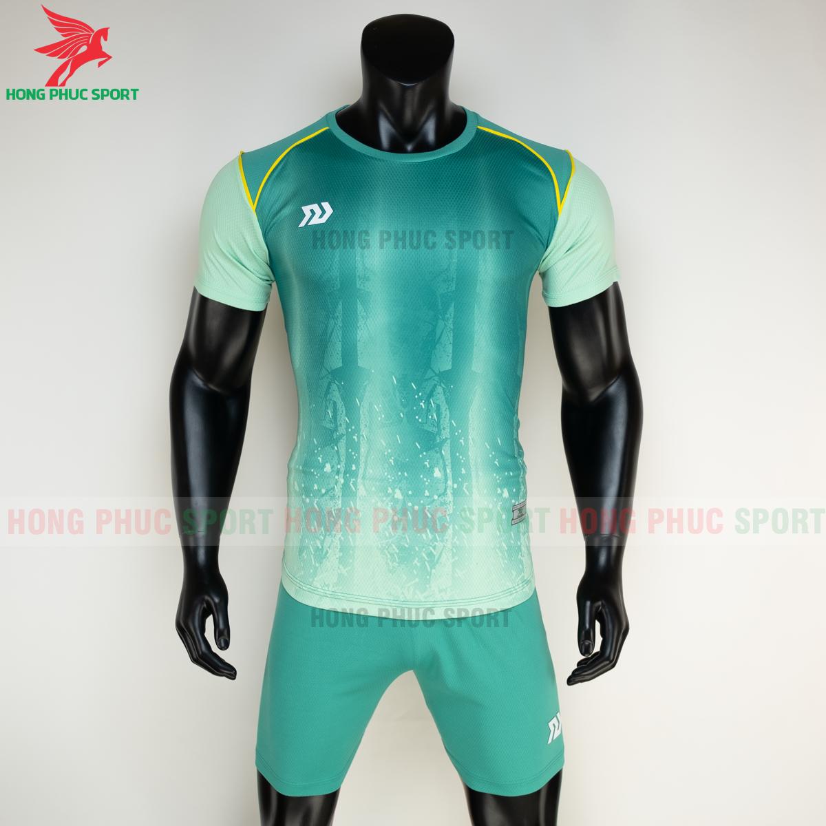 Áo đá banh không logo Bulbal Hades 2021 màu Xanh lá (trước)