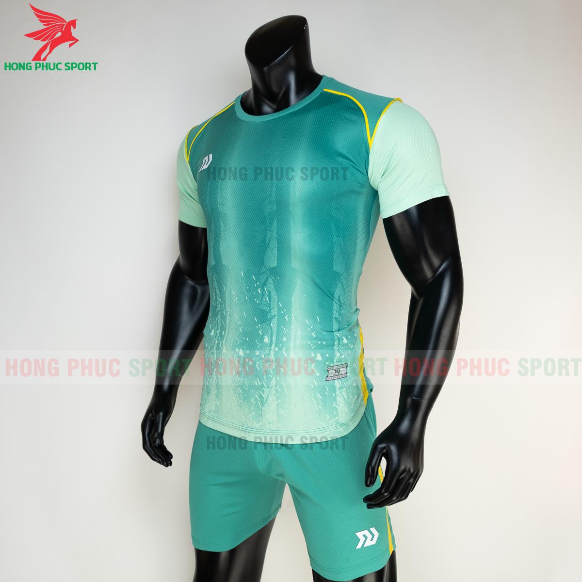 Áo đá banh không logo Bulbal Hades 2021 màu Xanh lá (trái)