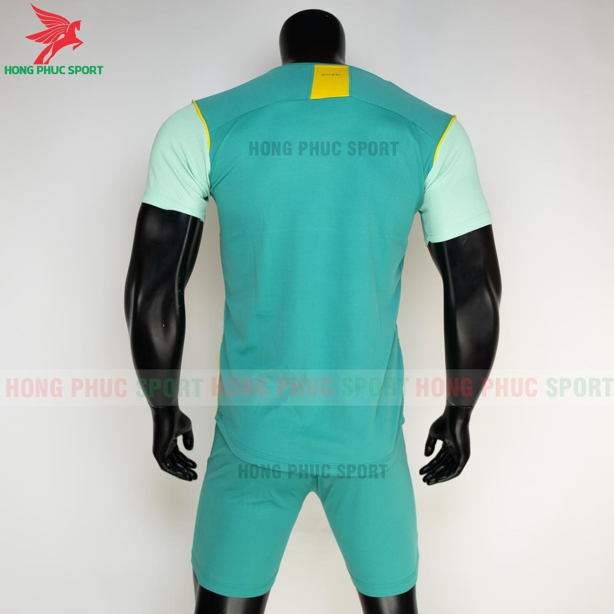 Áo đá banh không logo Bulbal Hades 2021 màu Xanh lá (sau)