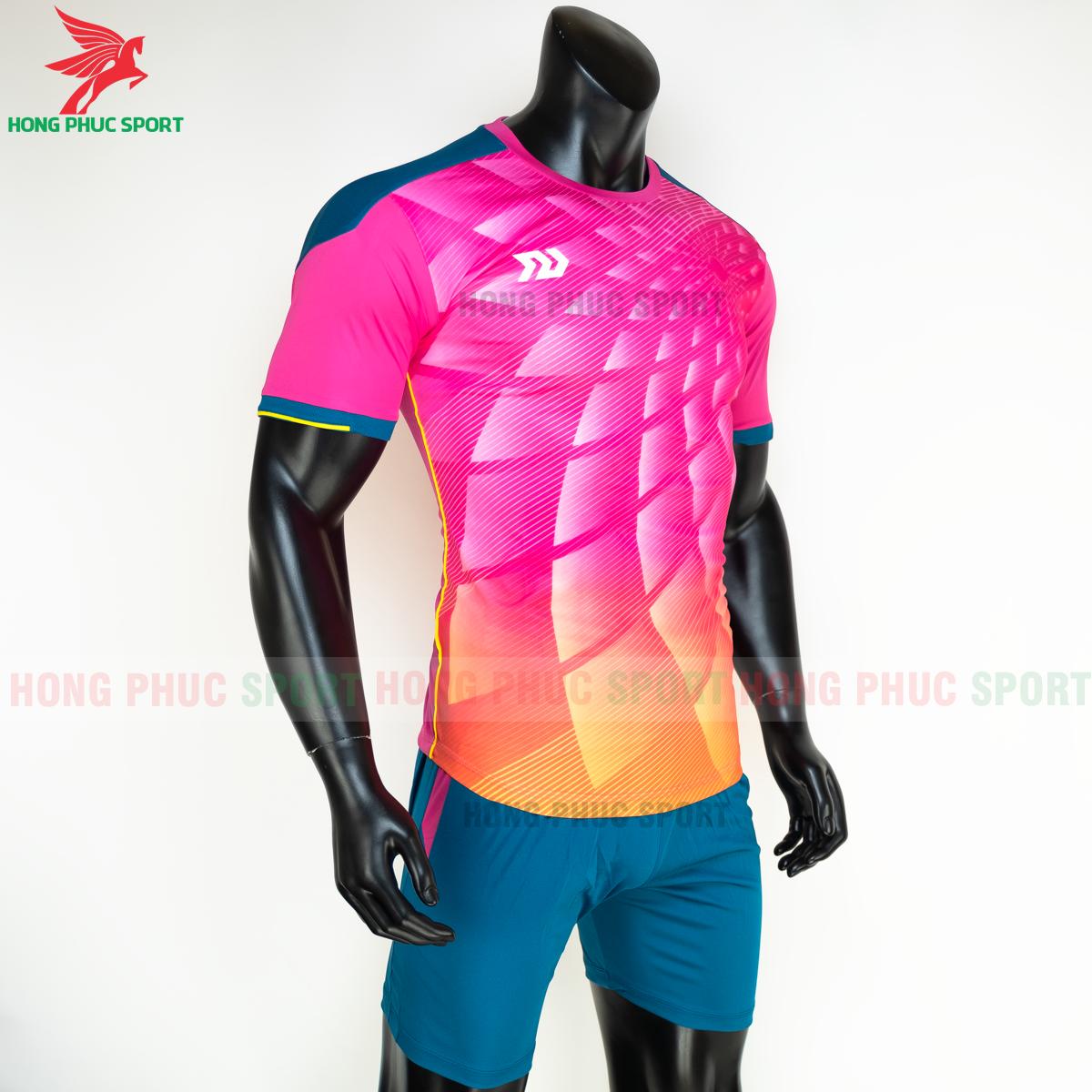 Áo đá banh không logo Bulbal Lotus 2021 màu Hồng (phái)