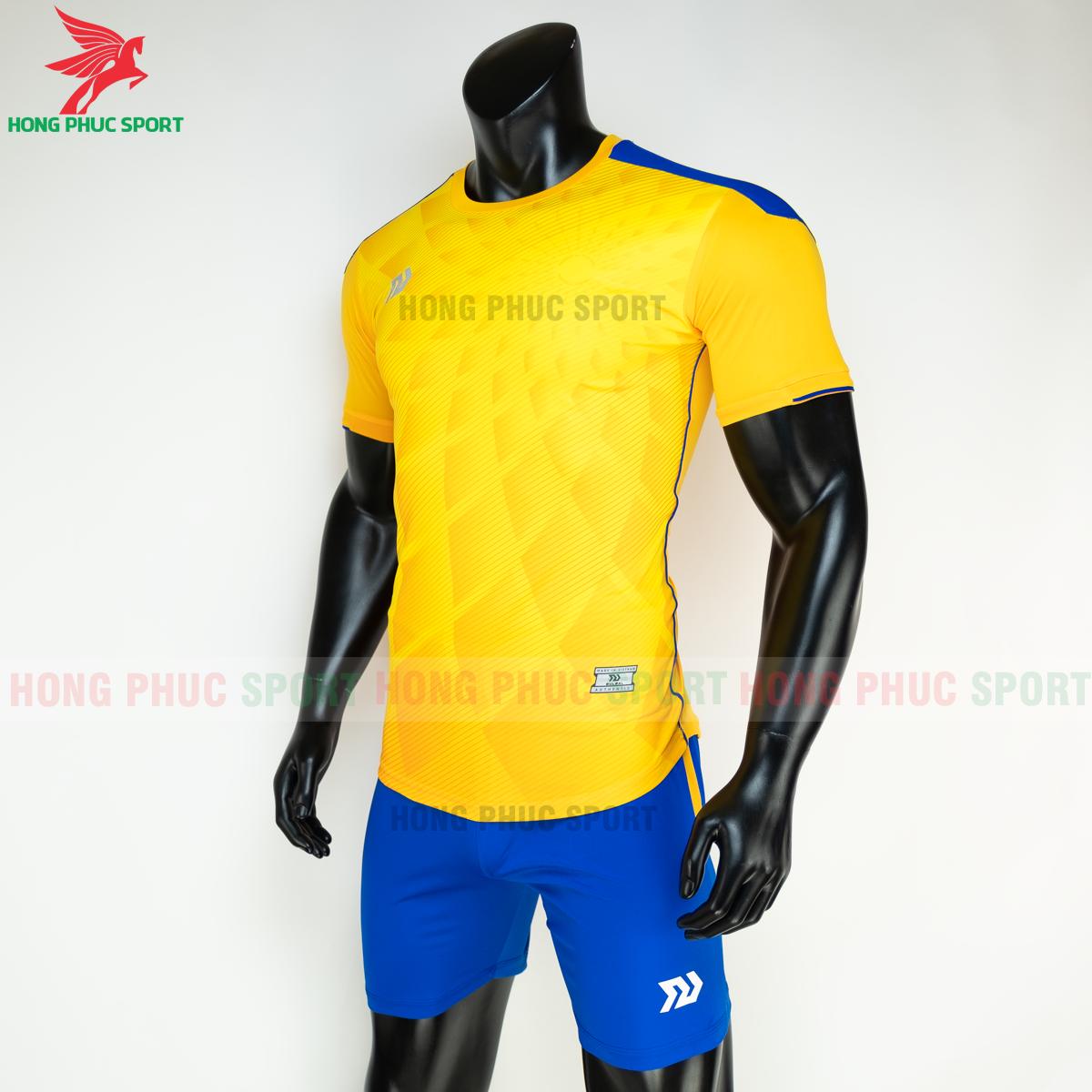 Áo đá banh không logo Bulbal Lotus 2021 màu Vàng (trái)