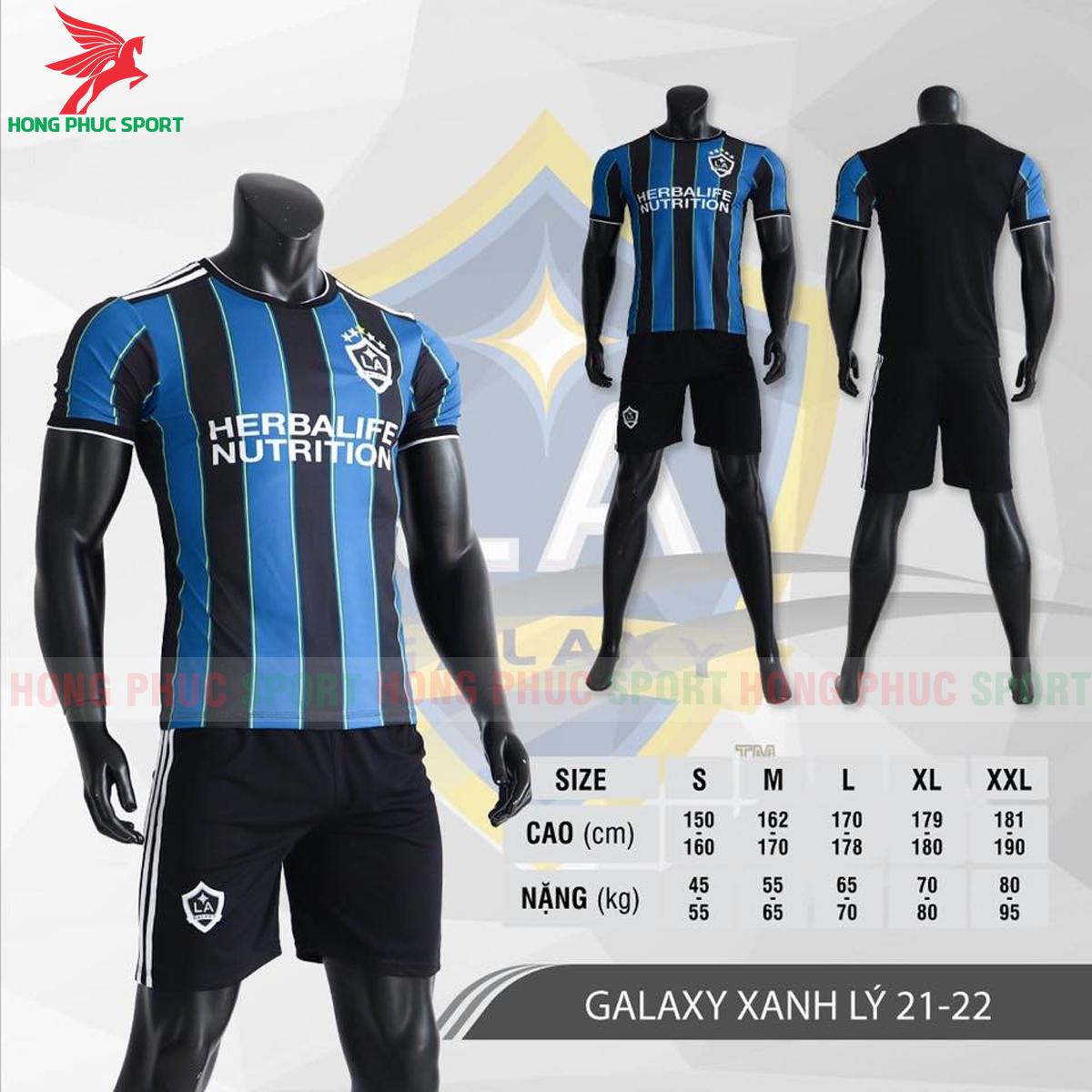 Áo đấu LA Galaxy 2021 2022 phiên bản fan màu xanh lý