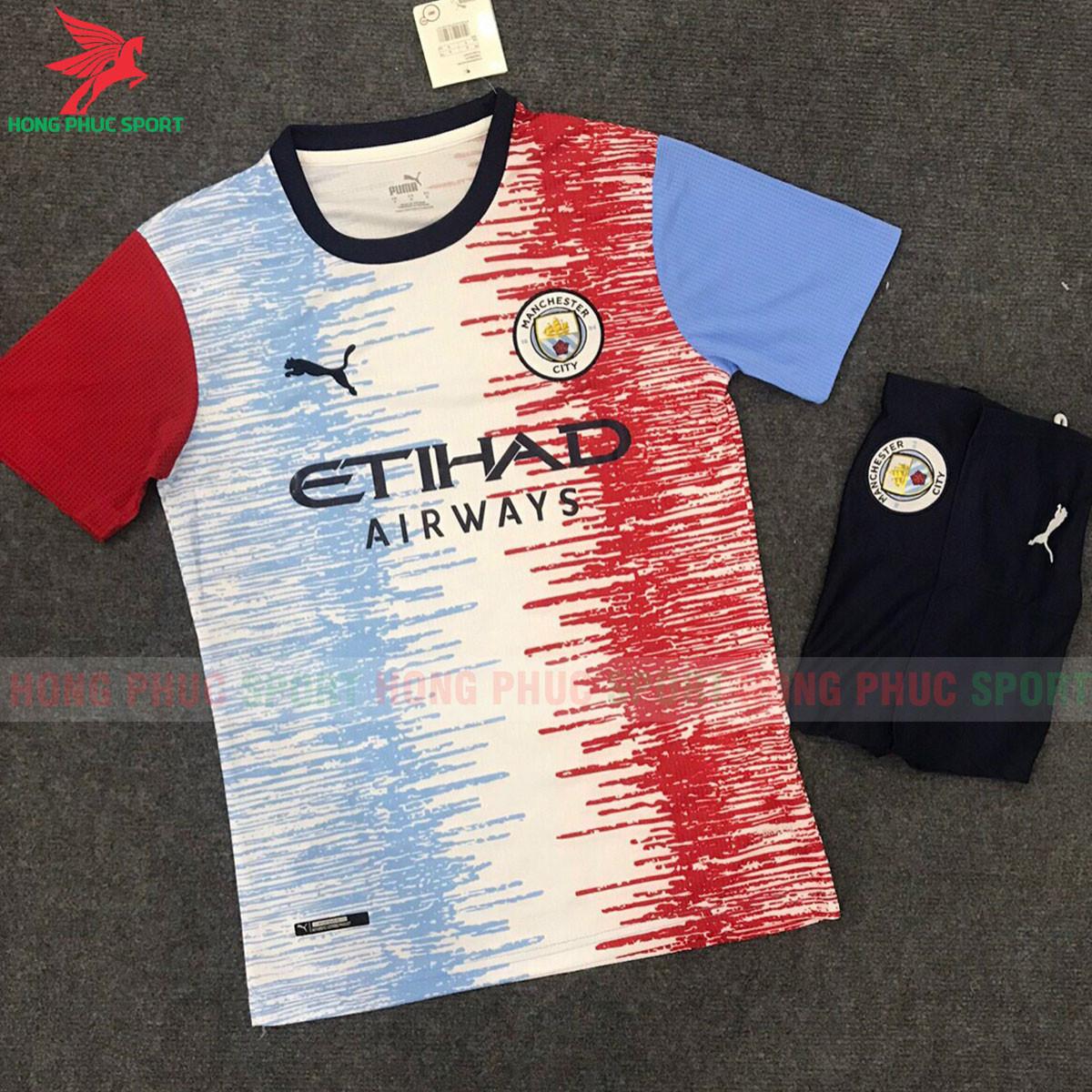 Áo đấu Manchester City 2021 2022 phiên bản fan
