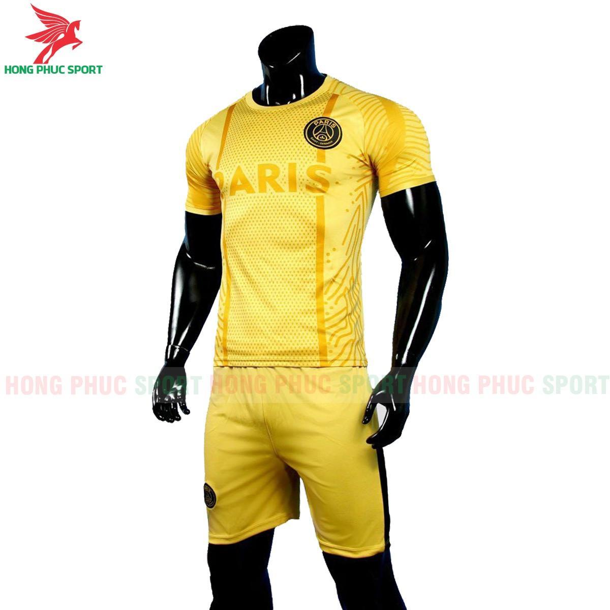 Áo đấu Paris Saint-Germain 2021 2022 phiên bản fan màu vàng