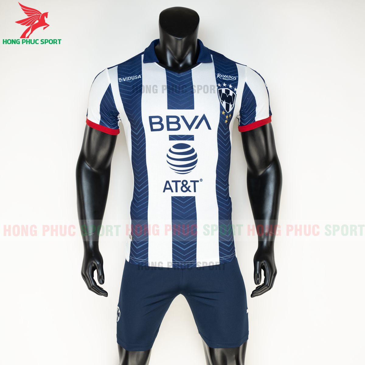 Áo đá banhRayados 2020 2021 sân nhà (trước)