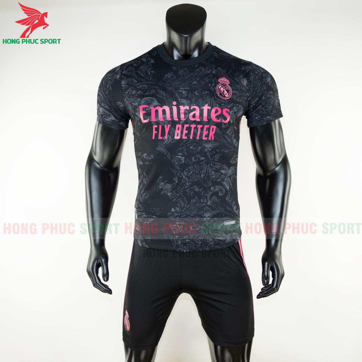 Áo bóng đá Real Madrid 2020 2021 mẫu thứ 3 (trước)