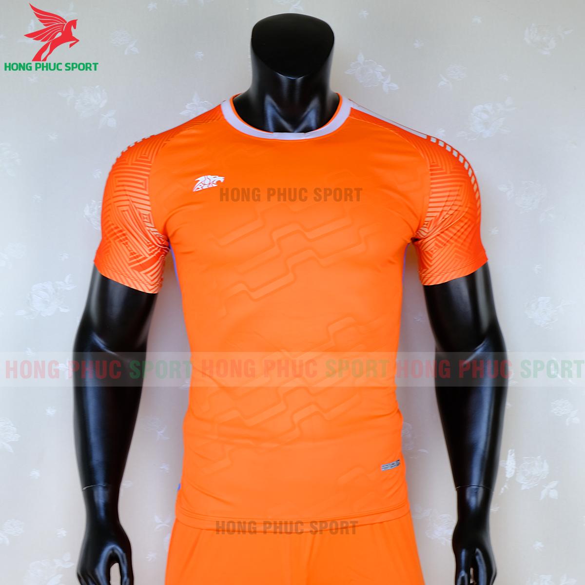 Áo không logo Riki Quator 2020 màu cam (trước)