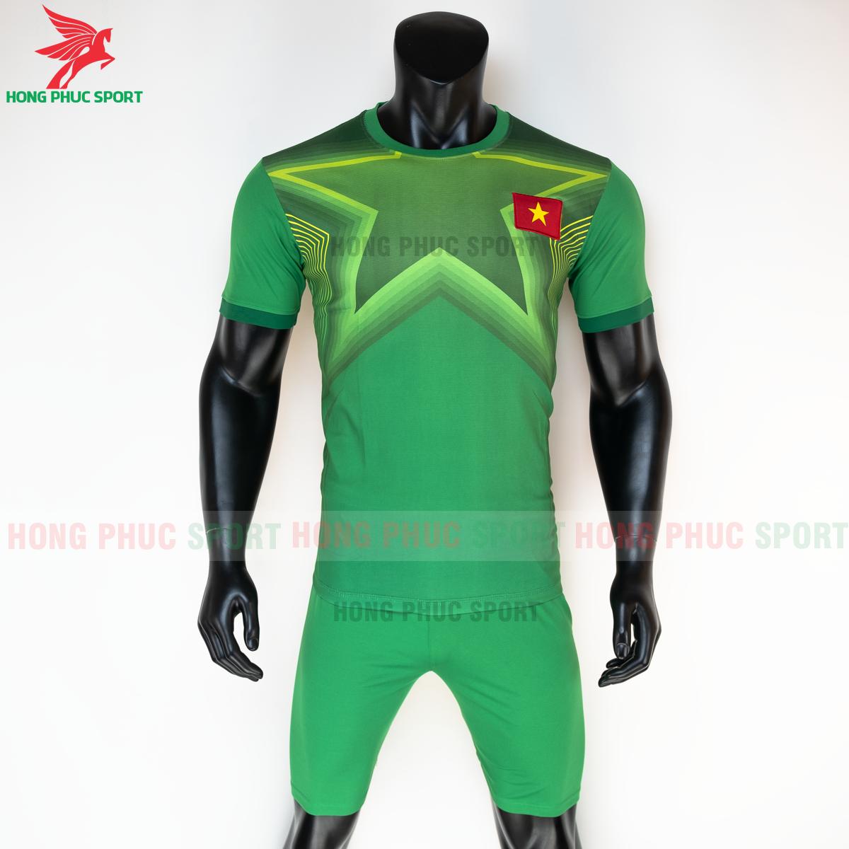 Áo bóng đá thủ môn tuyển Việt Namsân nhà 2021(trước)