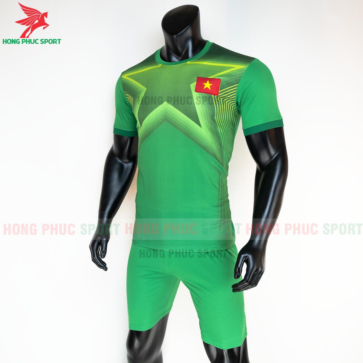 Áo bóng đá thủ môn tuyển Việt Namsân nhà 2021(trái)