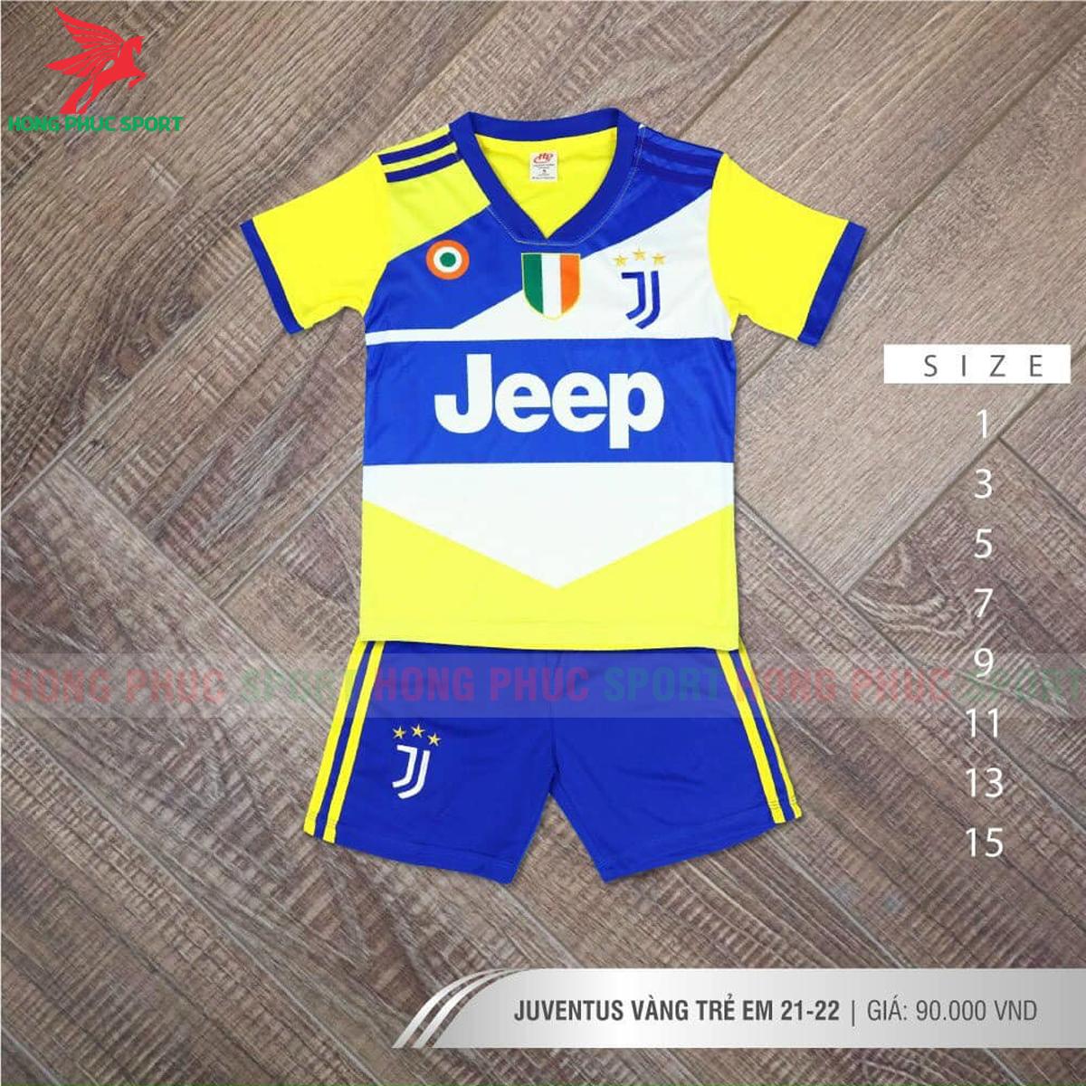 Áo đấu trẻ em Juventus 2021 2022 mẫu thứ 3