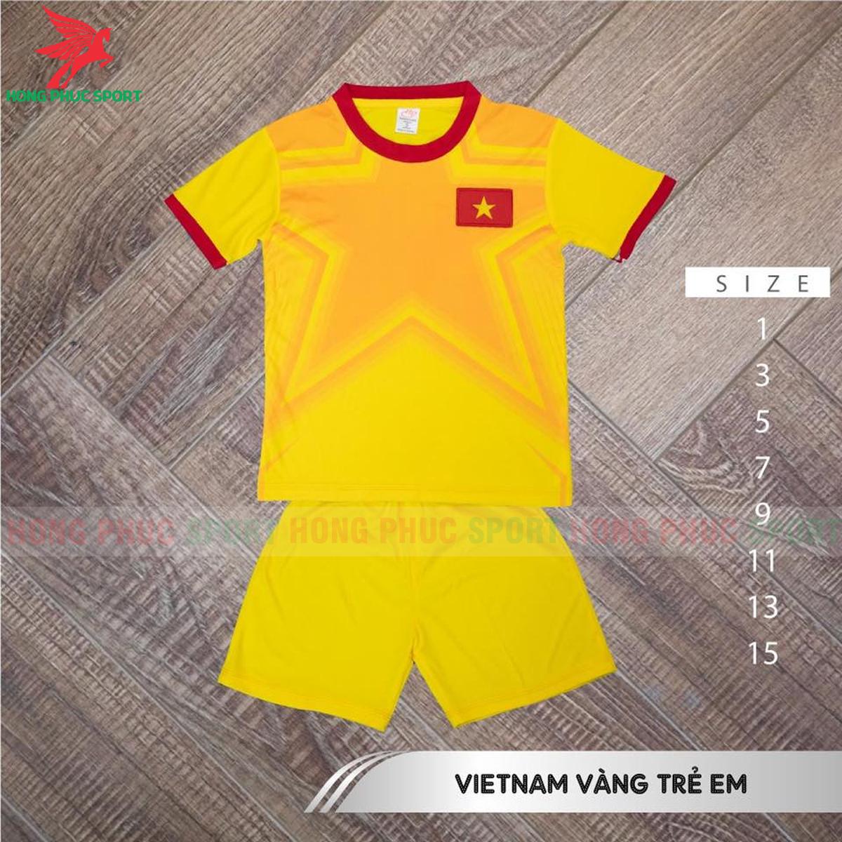 Áo đấu trẻ em thủ môn tuyển Việt Nam 2021 2022 sân khách