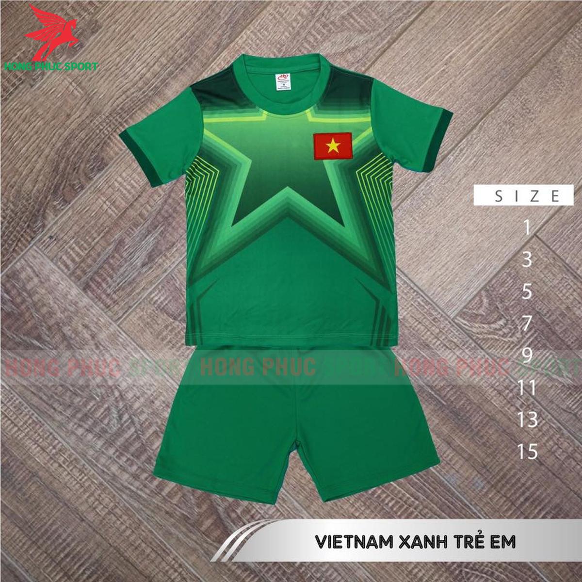 Áo đấu trẻ em thủ môn tuyển Việt Nam 2021 2022 sân nhà