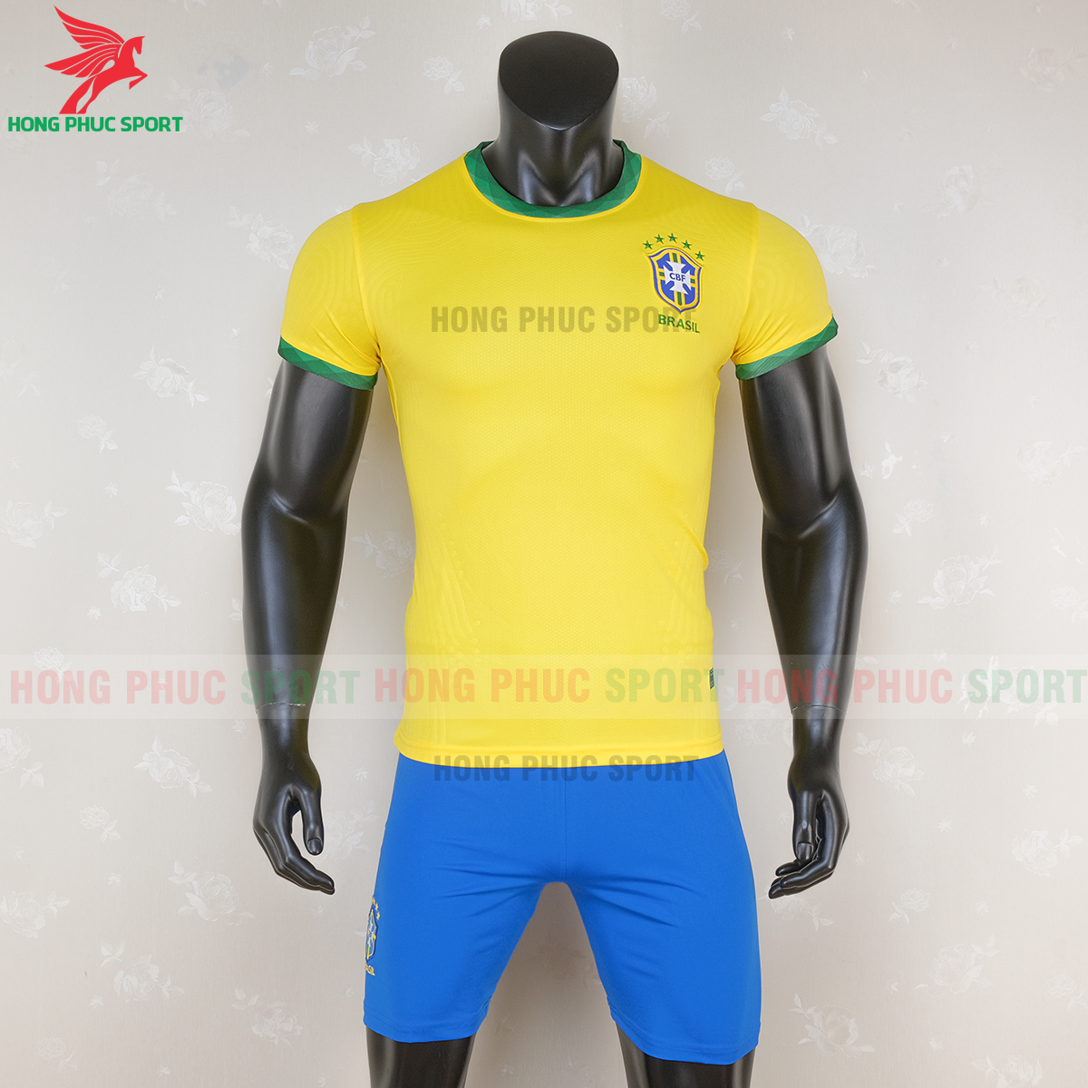 Áo bóng đá tuyển Brazil 2020 2021 sân nhà (trước)