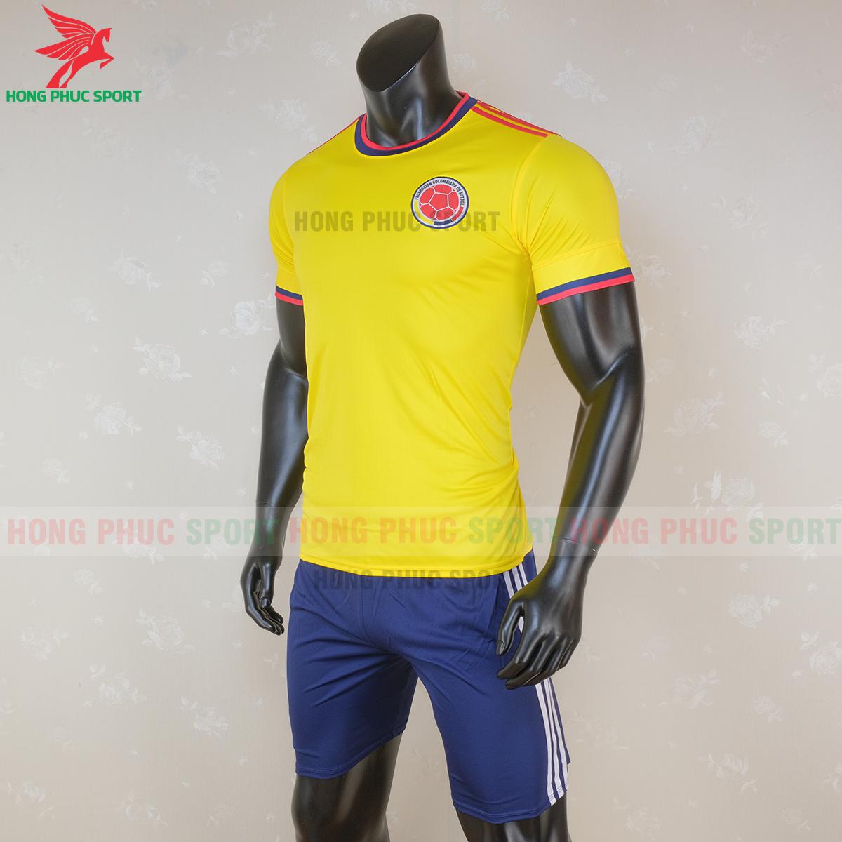 Áo đấu tuyển Colombia 2020 sân nhà (trái)