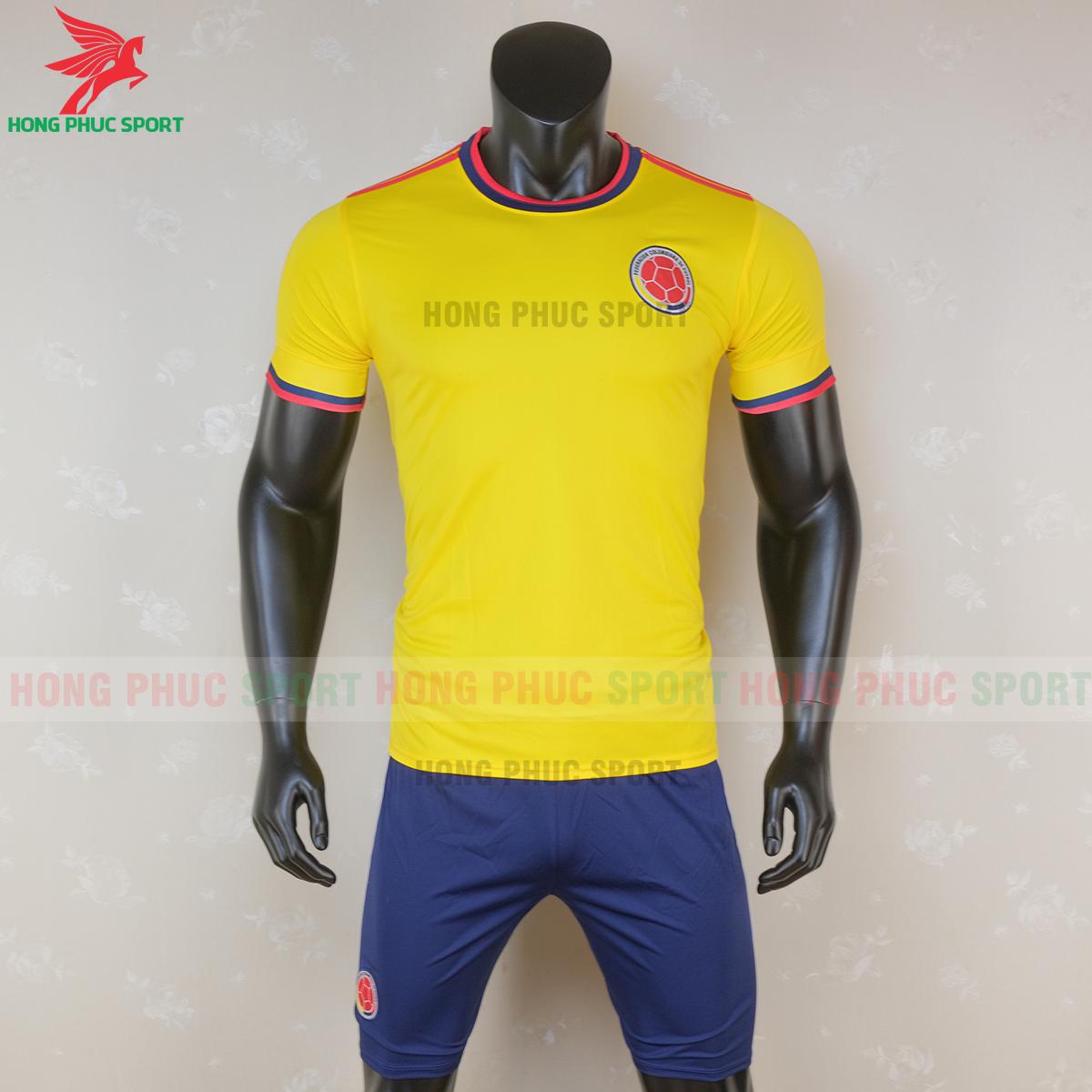 Áo đấu tuyển Colombia 2020 sân nhà (trước)