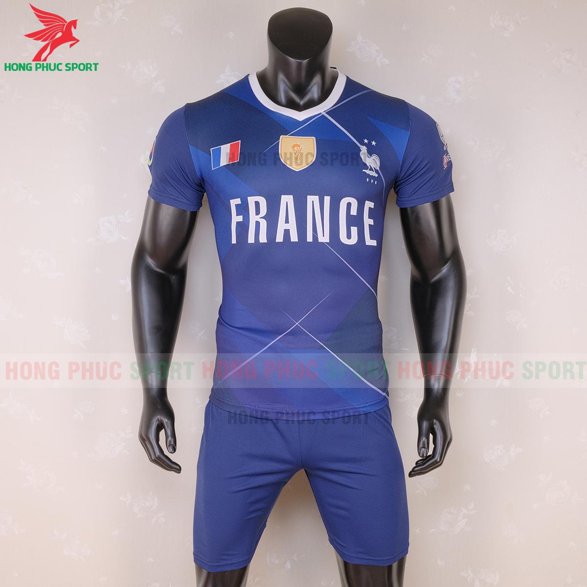 Áo đấu tuyển Pháp 2020 phiên bản Fan (trước)