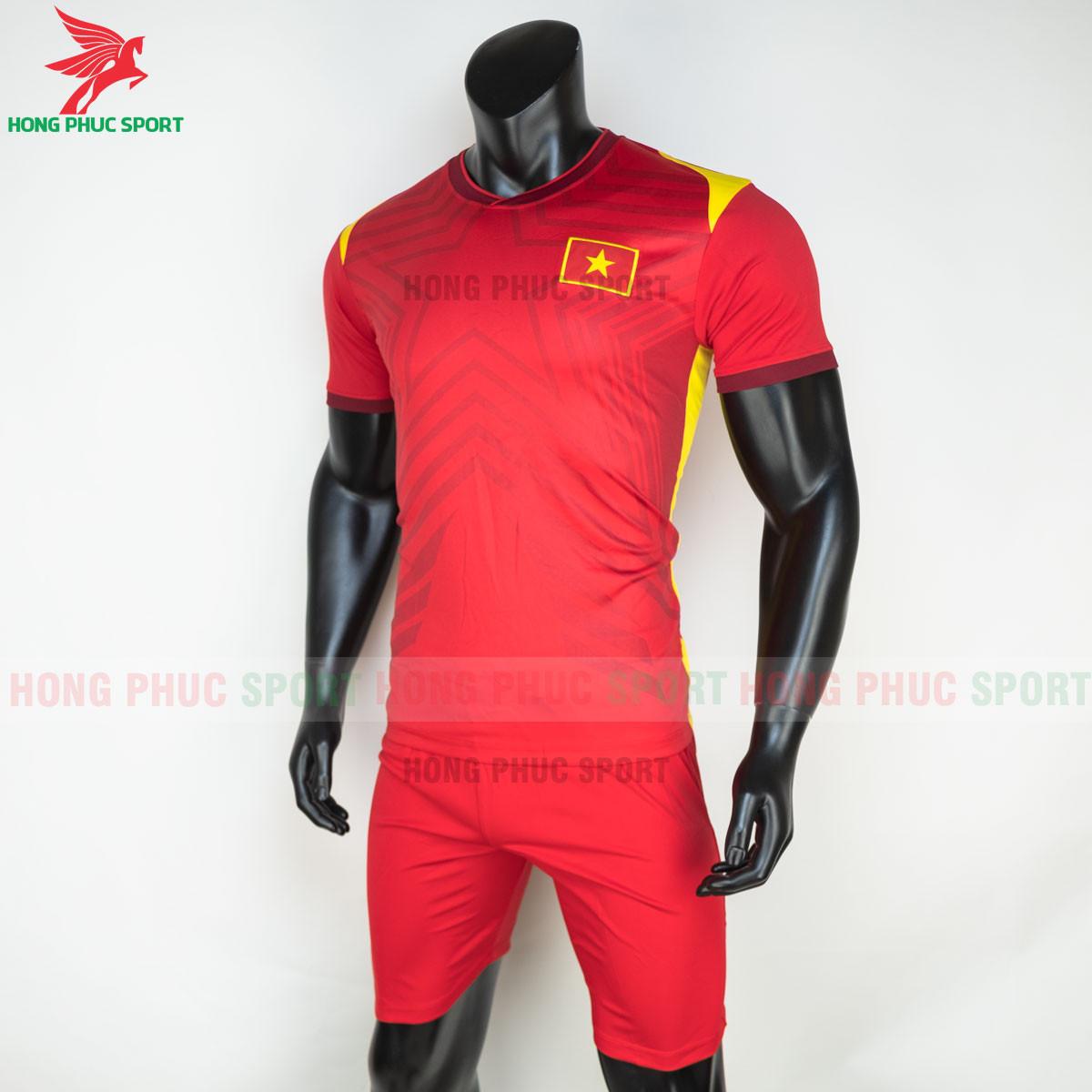 Áo bóng đá tuyển Việt Namsân nhà 2021(trái)